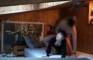 Coeds در اتاق کانال و گروه سکسی رختشویی
